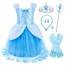 цены на AmzBarley Princess costume Toddle Girls tutu Dress Birthday Party Cosplay clothes Kids Halloween Christmas Carnival Ball Gowns в интернет-магазинах