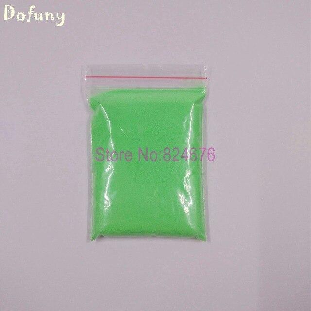 500 g/lote apple verde luminoso en polvo, polvo de fósforo para el ...
