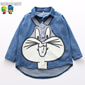 Children Clothing Shirt New Arrival Girls Clothes Cartoon Rabbit Print Shirt Everything For Children Clothing And Accessories
