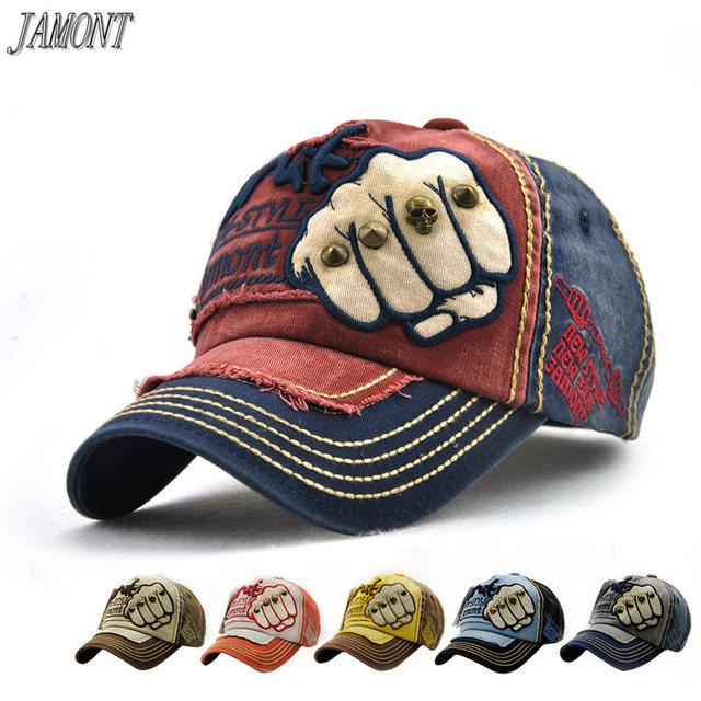 4ac15749525 Wholesale cotton Baseball Cap men and women Embroidery Wash Old Vintage Baseball  Cap Hip Hop Outdoor Cap Fashion trucker cap