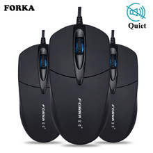 Diam/Suara Klik Mini Mouse Gaming Kabel Mouse Komputer Portabel Bisu Meja Optical Mouse Mouse untuk PC Komputer Laptop desktop(China)