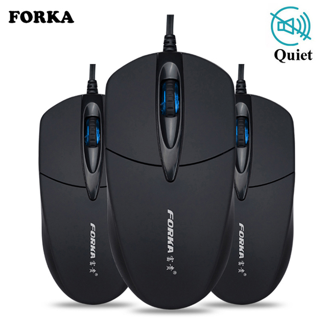 Silent Sound Click Mini Wired Gaming Mouse Computer Mouse Portable Mute Desk Optical Mouse Mice