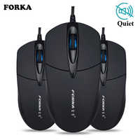 Silent/Sound Click Mini Wired Gaming Mouse Computer Mouse Portable Mute Desk Optical Mouse Mice for PC Computer Laptop Desktop