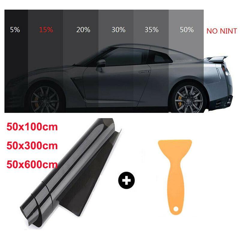 Uncut Roll Window Tint Film 50/% VLT 20 In x 5 Ft Feet Car Home Office Glasss