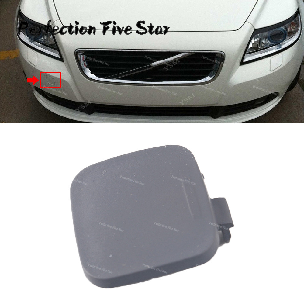 Us 4 55 Front Bumper Grille Grill Tow Eye Hook Cap Cover Random Color For Volvo S40 2008 2009 2010 2011 39886277 30744906 In Bumpers From
