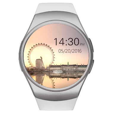 New Smart Wacht KW18 font b smartwatch b font for iphone android phone heart rate monitor