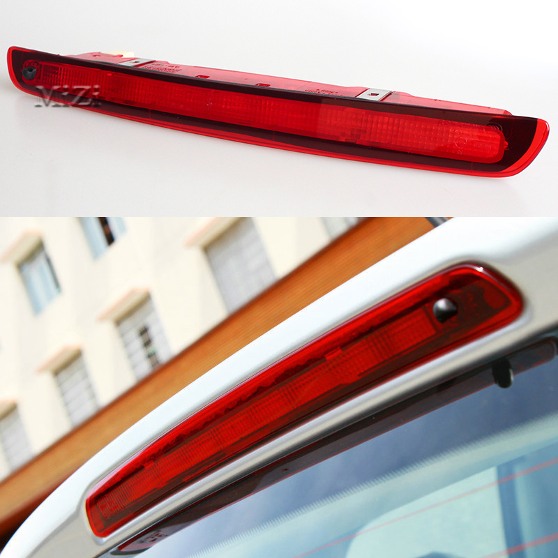 LED High Position Mount Additional Stop Lamp Car-styling Rear Brake Light For Nissan QASHQAI 2008 2009 2010 2011 2012 2013 2014 high quality aluminum canvas black rear cargo cover fit for nissan x trail 2008 2009 2010 2011 2012 2013