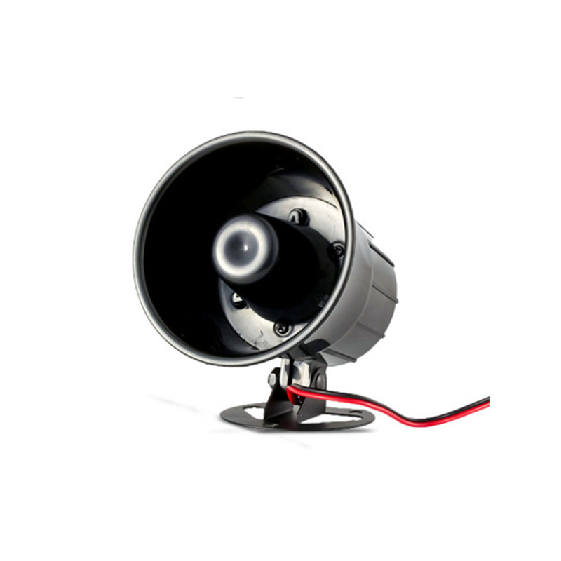 Large Sounds Wired Siren 120db Mini Wired Siren Horn DC 12V For Wireless Home Alarm Security System House