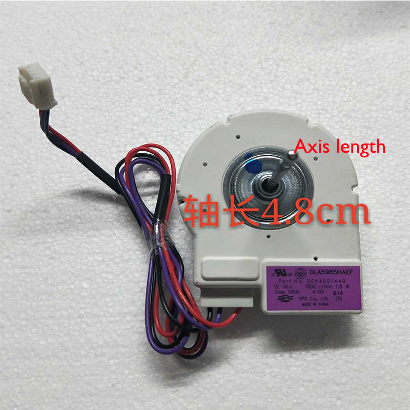 1pcs Be applicable Haier refrigerator freezer DC fan motor DG8-013A12MA BCD-290WBCZ BCD-290WX refrigerator freezer parts сумка dkny сумка