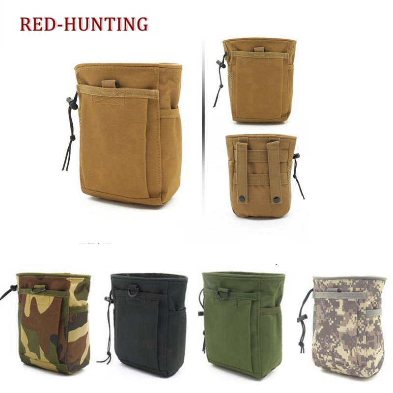 93b93db8e645 US $6.57 49% OFF|Aliexpress.com : Buy Tactical Molle drawstring Magazine  Dump Pouch Military Adjustable Belt Utility fanny hip holster Bag Outdoor  ...