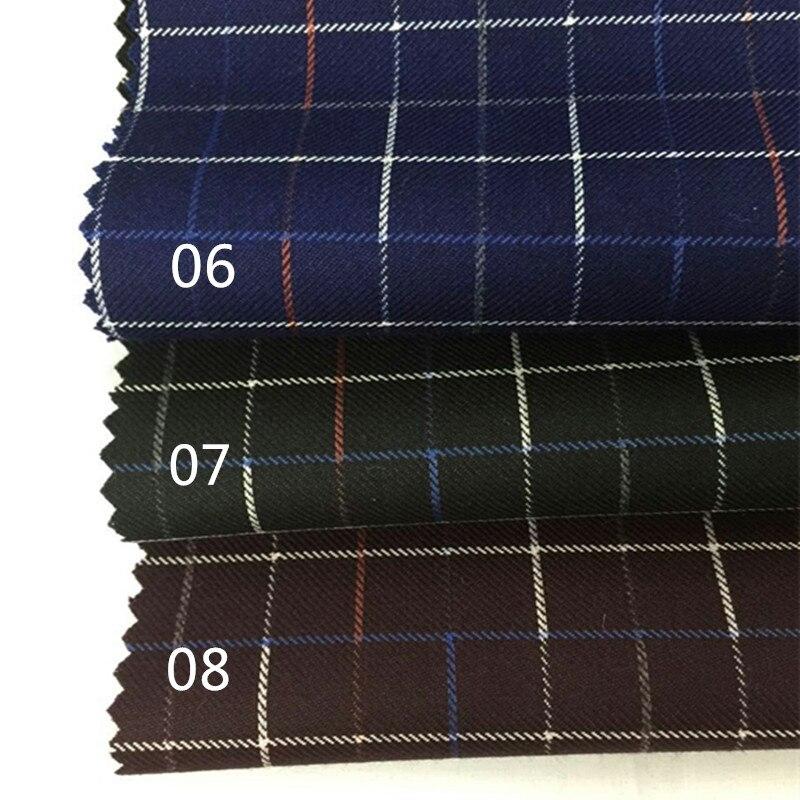 2016 Men And Women, The New Suit Lattice Material Suit Fabric Cloth Wholesale Suit Vest Wide Leg Pants Diy Manual