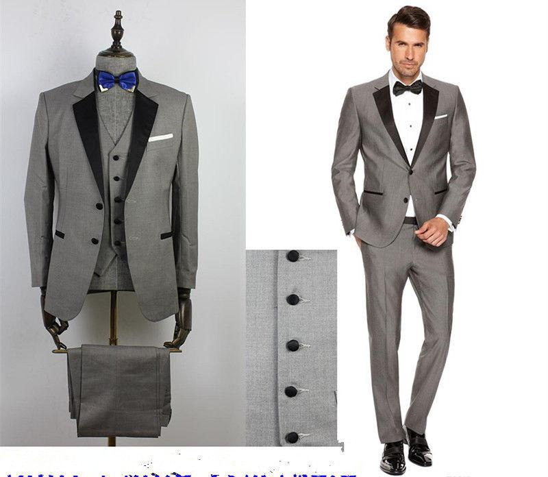 Online Get Cheap Grey and Black Prom Suits -Aliexpress.com ...