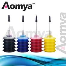 Aomya Универсальный 4 цвета 30 мл бутылка краситель чернил черный заправка чернил комплект Замена для hp для Canon для Brother для Epson принтера