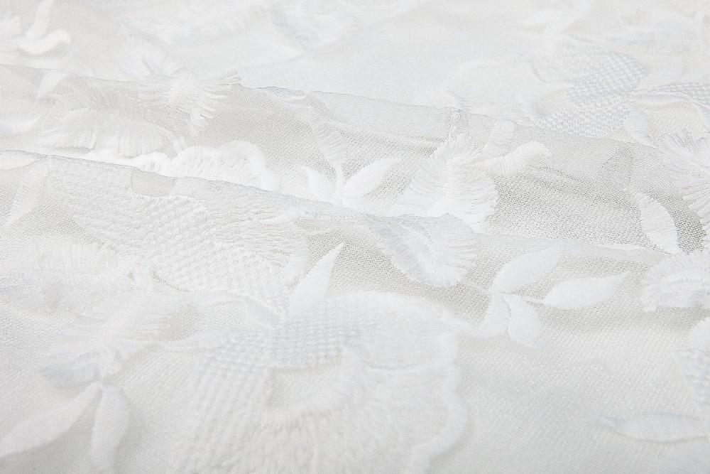 Robe Arrivée Sexy D'été Blanc 2018 Femmes Gros En Dentelle Slash Manches Mode Qualité B20 cou De Sans Nouvelle Haute Partie 54wwq6B0x
