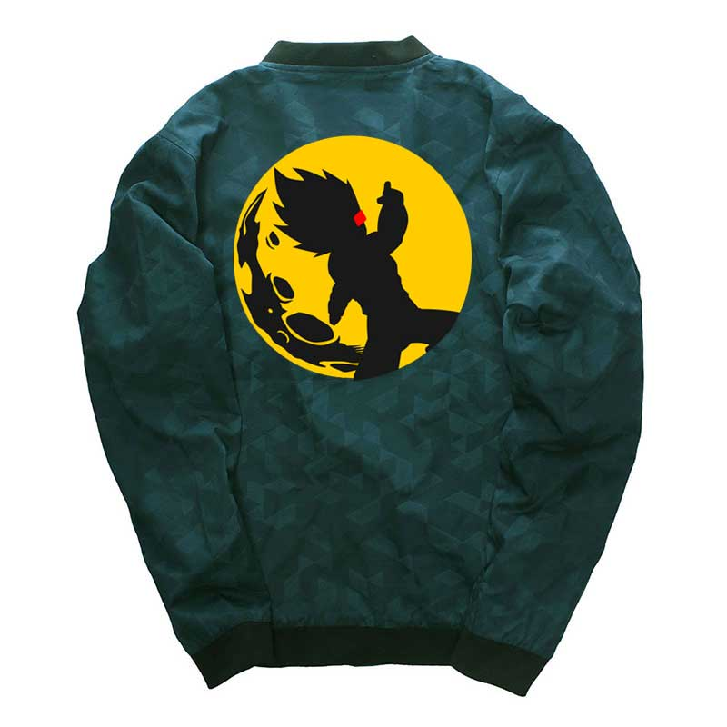 Competent Hip Hop Dragon Ball Men Jackets Cartoon Coats Streetwear Windbreaker Stand Collar Men Clothes Wholesale Jackets Drop Shipping To Ensure Smooth Transmission