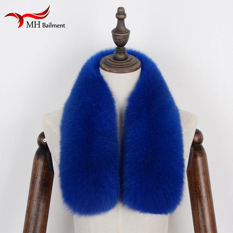 Women's Scarf Sets Careful Women And Men Multicolor Beautiful Hot Fashion Autumn Winter Natural Fox Fur Collar Scarf Neck Warmer Stole For Garment For