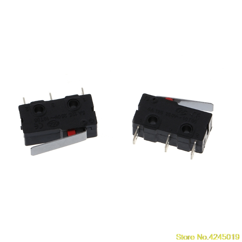 New High quality 5 Pcs Travel Limit Switch 3 Pin N/O N/C 5A 250VAC KW11-3Z Micro Switch