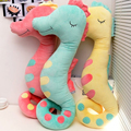 1pcs Genuine Wave Hippocampus Pillow Large Boyfriend to Send Girls Lover Gift Sleep Pillow High Quality Beautiful Toy