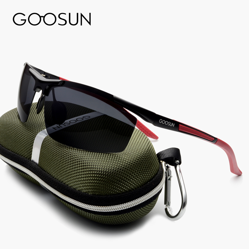 630148796fa GOOSUN Aluminum Magnesium Brand Polarized Men s Sunglasses 5 Color Sun Glasses  Men Driving Sport Goggle Eyewear Accessories-in Sunglasses from Men s ...