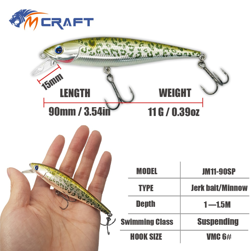 55 pieces New Hot Fishing lure Twitching Minnow Jerk bait Suspending Hard Baits professional quality wobblers