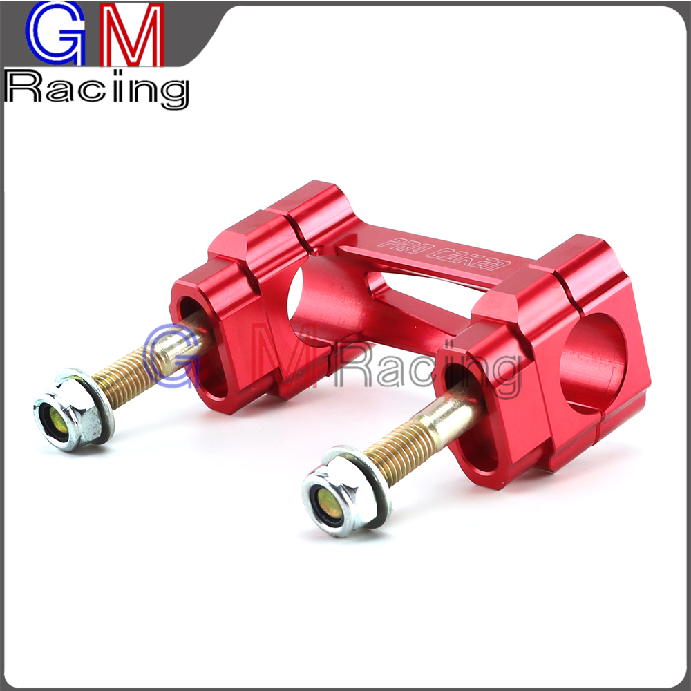 Red 7//8/'/' 22MM Motorcycle Handlebars For Dirt Pit Bike CR125R//250R CRF250F//250X