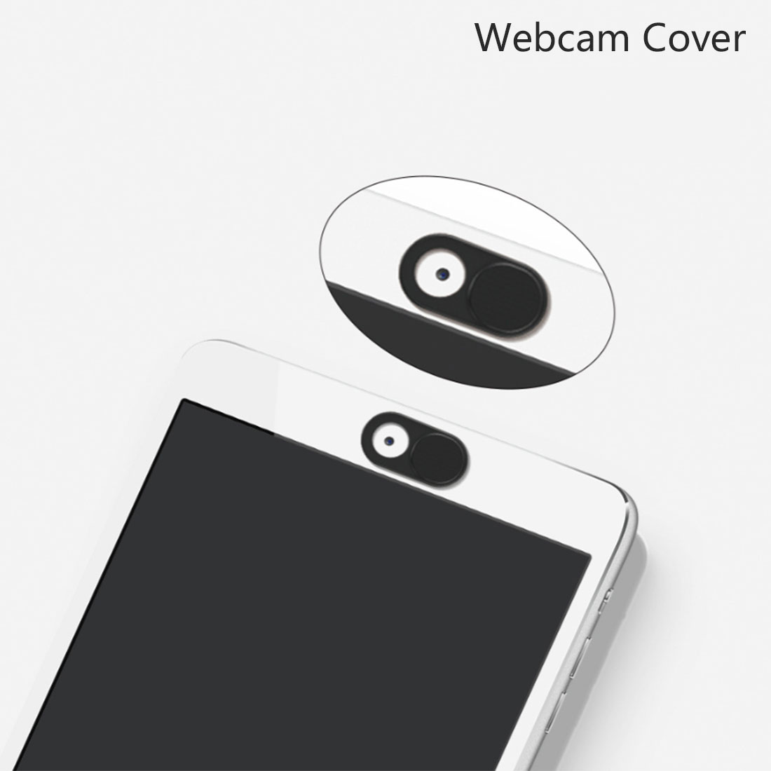 Etmakit 3Pcs Metal WebCam Shutter Cover Web Camera Secure