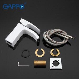Image 5 - GAPPO Juego de grifos de ducha, conjunto de ducha de Mezclador de Baño blanco, set de ducha de lluvia