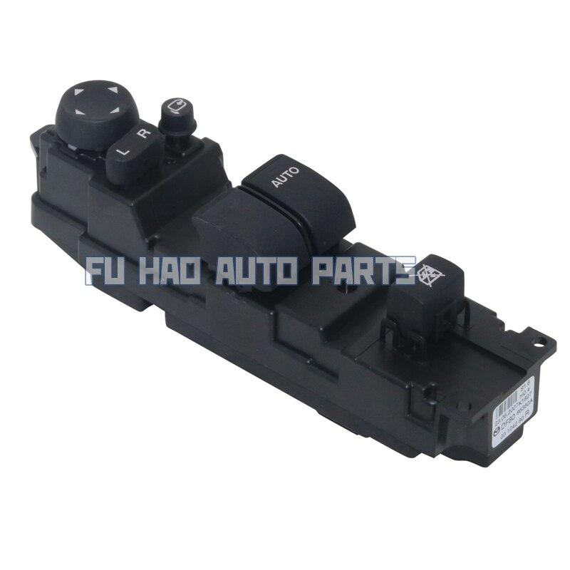 Tout nouveau DF80-66-350A DF8066350A RHD interrupteur de fenêtre d'alimentation pour Mazda