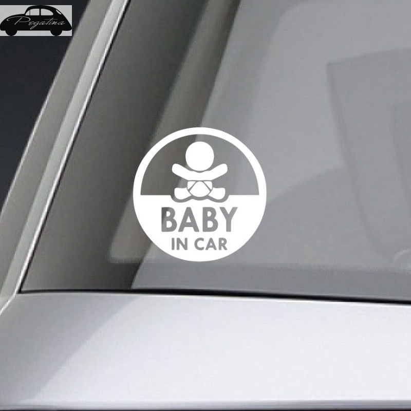 Pegatina ребенок в машине размахивая ребенок на борту знак безопасности с симпатичными машинками Наклейка виниловая Стикеры