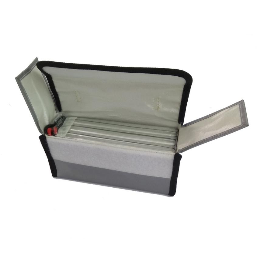 2017 LiPo Li-Po Battery Fireproof Safety Guard Safe Bag 220*100*75MM Feb21