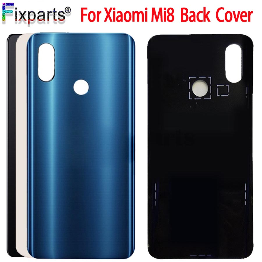 New <font><b>Xiaomi</b></font> <font><b>Mi</b></font> <font><b>8</b></font> Back <font><b>Battery</b></font> <font><b>Cover</b></font> Mi8 Back Glass Panel For <font><b>Xiaomi</b></font> Mi8 Lite <font><b>Battery</b></font> <font><b>Cover</b></font> Rear Door Case For <font><b>Xiaomi</b></font> Mi8 Lite image