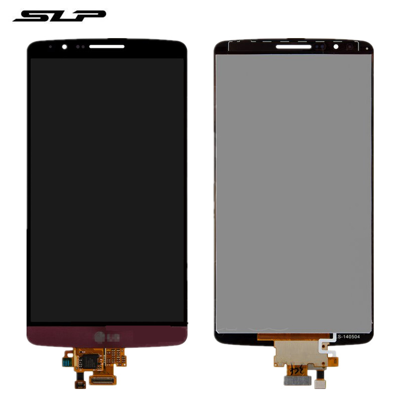 Skylarpu Complete LCD for LG G3 D855, G3 D856 Dual Cell Phone Full LCD display Touch screen Free Shipping