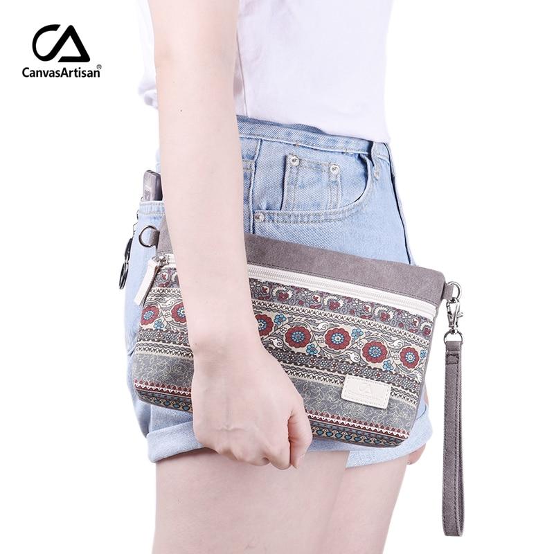 Womens Shoulder Bag Canvas Retro Style Floral Printing Handbags Female Small Messenger Bag Women Crossbody Bags Daily Clutch