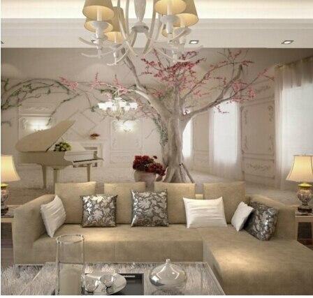 Fiore di ciliegio Albero di Carta Da Parati Murales 3D Sfondi per ...