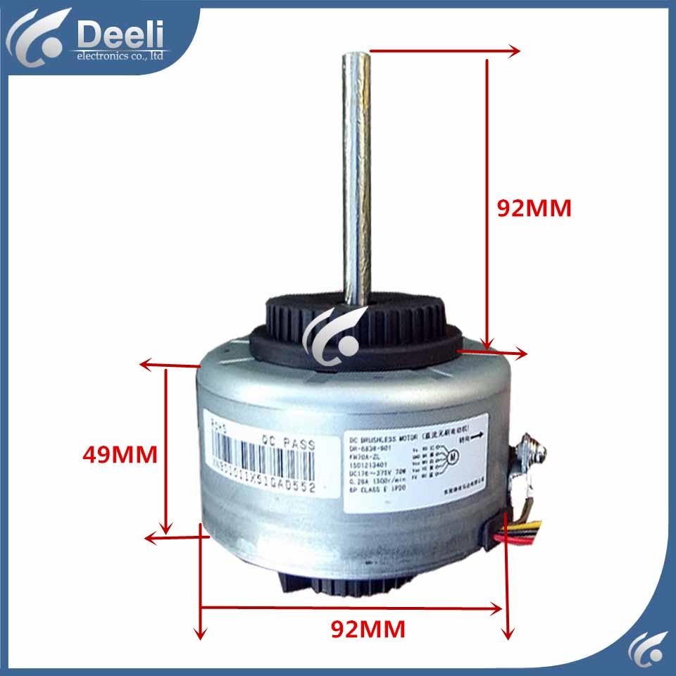 good working for Air conditioner Fan motor DC motor FN70A - ZL FN70A -ZL DR-8838-901 70W good working ups ems dhl 95% new good working for air conditioner inner machine motor fan ydk50 8g 3 7 line