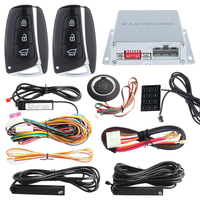 Quality PKE Car Alarm System Touch Password Entry Push Button Start Remote Engine Start Stop Auto