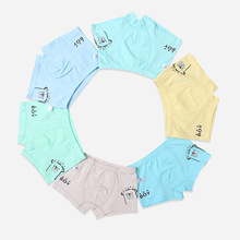 6Pcs/Lot Cartoon Boy Panties Children Underwear Kids Briefs Boxer Cotton Breathable Boy Underpants 2-7Years For Children Clothes