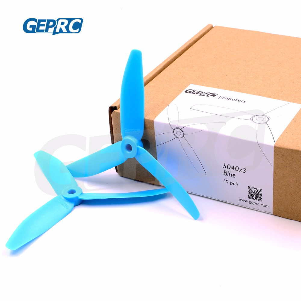 Geprc 5*<font><b>4</b></font>*3 3-<font><b>Blade</b></font> Tri-<font><b>Blade</b></font> PC <font><b>5040</b></font> Propellers GEP-<font><b>5040</b></font> for Quadcopter FPV Racing drone RC helicopter part image
