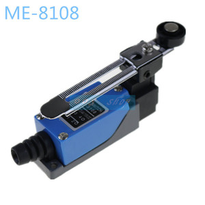 ME-8108 Rotary AC380V 6A 250V 10A Adjustable Waterproof Momentary Limit Switch Arm Yype Roller Lever For CNC Mill Laser Plasma(China)