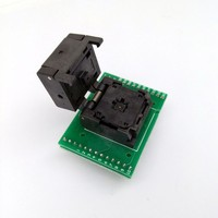 QFN32 MLF32 IC Pitch 0.5 IC550 0324 007 G Burn in/Test/Programming Socket Clamshell Chip Size 5*5 Flash Adapter Double PCB