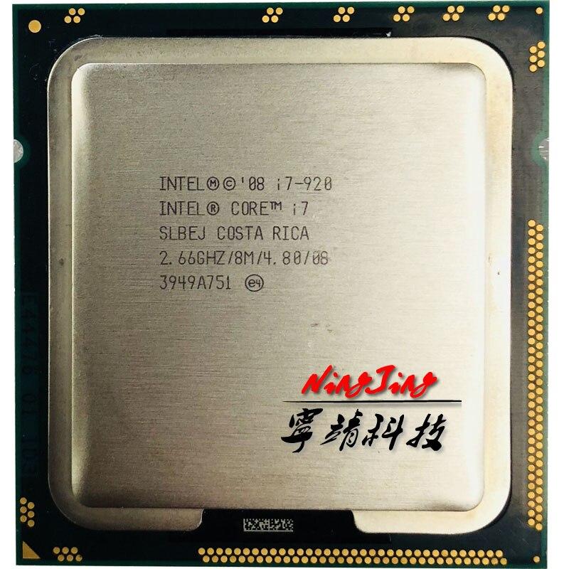 2019 Neuestes Design Intel Core I7-920 I7 920 2,6 Ghz Quad-core Cpu Prozessor 130 Watt 8 Mt Lga 1366 Durchblutung Aktivieren Und Sehnen Und Knochen StäRken