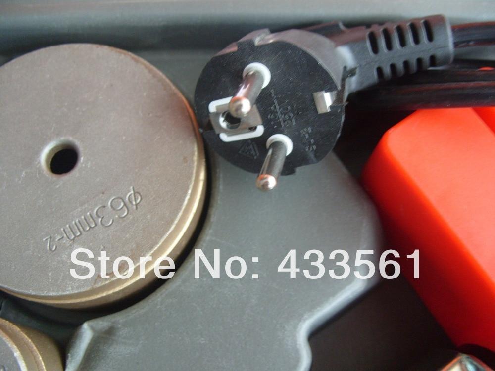 Nešiojamasis lizdo sulydymo suvirinimo aparatas / suvirintojo - Suvirinimo įranga - Nuotrauka 3