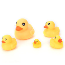 Classic Toy 2018 New Arrival Mini Bath Duck Sound Floating Rubber Ducks Squeeze-sounding Dabbling Toy Rubber Duck Hot sale(China)