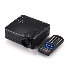 H80 Portable Mini LED LCD Home Theater Game Projector Support PC Laptop Full HD 1080P Video With AV/VGA/USB/SD/HDMI Multimedia