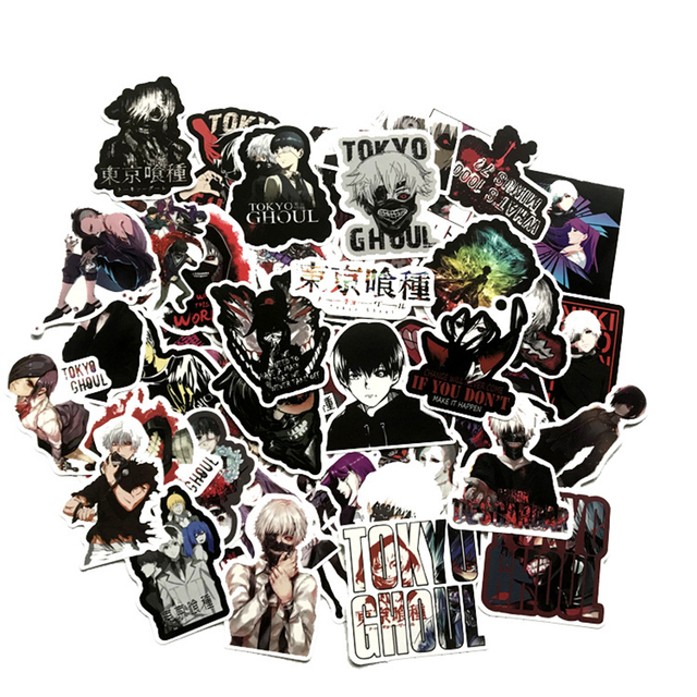 50pcs Tokyo Ghoul Decal Stickers