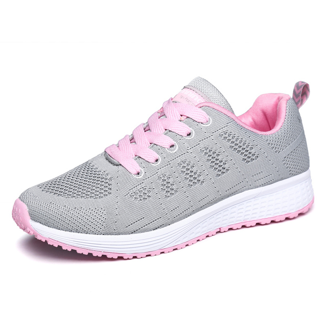 wholesale dealer 10fcc f9664 US $48.69 |2017 New Brand Women Sport Shoes Breathable Athletic Women Shoes  Black Walking Jogging Sneakers Cheap Ladies Gym Shoes-in Running Shoes ...