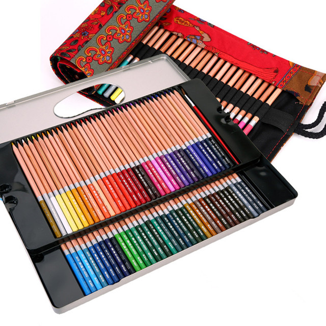 hydrotropic 72 48 prismacolor colored pencils professional brushes