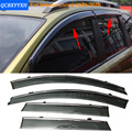 Car Stylingg Awnings Shelters 4pcs/lot Window Visors For Nissan Livina 2007-2016 Sun Rain Shield Stickers Covers