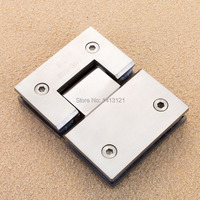 Free Shipping Stainless Steel Glass Door Hinge Bathroom Clip Shower Room Hinge Glass Clamp Household Hardware