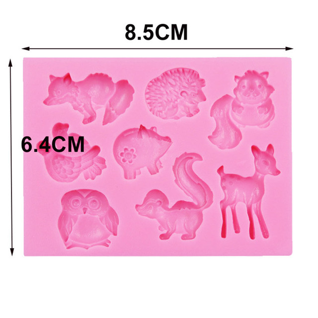 Animal Silicone Chocolate Mold